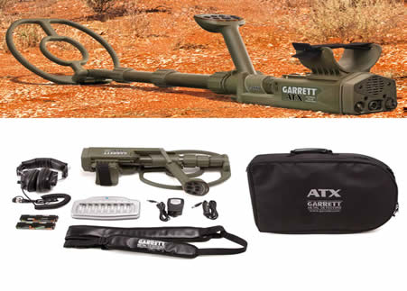 Garrett ATX Deep Seeker Package